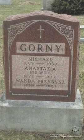 GORNY, ANASTAZIA - Lucas County, Ohio | ANASTAZIA GORNY - Ohio Gravestone Photos