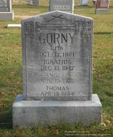 GORNY, RITA - Lucas County, Ohio | RITA GORNY - Ohio Gravestone Photos
