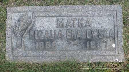 GRABOWSKA, ROZALIA - Lucas County, Ohio   ROZALIA GRABOWSKA - Ohio Gravestone Photos