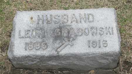 GRABOWSKI, LEON - Lucas County, Ohio | LEON GRABOWSKI - Ohio Gravestone Photos
