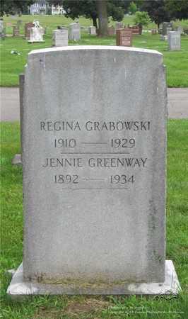 GARWACKI GRABOWSKI, JENNIE - Lucas County, Ohio | JENNIE GARWACKI GRABOWSKI - Ohio Gravestone Photos