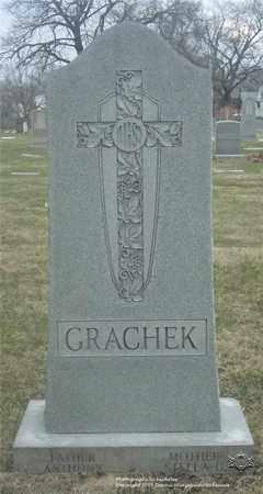 GRACHECK, ANTHONY - Lucas County, Ohio | ANTHONY GRACHECK - Ohio Gravestone Photos