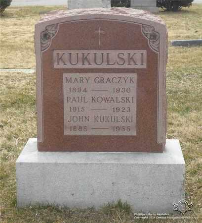 KUKULSKI, JOHN - Lucas County, Ohio | JOHN KUKULSKI - Ohio Gravestone Photos