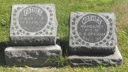 GRAHAM, MARGARET - Lucas County, Ohio | MARGARET GRAHAM - Ohio Gravestone Photos