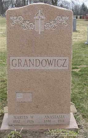 GRANDOWICZ, ANASTASIA - Lucas County, Ohio | ANASTASIA GRANDOWICZ - Ohio Gravestone Photos