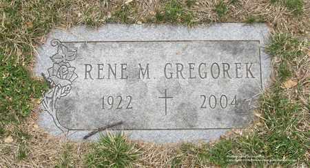 GREGOREK, RENE M. - Lucas County, Ohio | RENE M. GREGOREK - Ohio Gravestone Photos