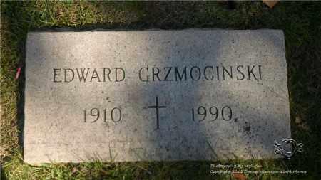 GRZMOCINSKI, EDWARD - Lucas County, Ohio   EDWARD GRZMOCINSKI - Ohio Gravestone Photos