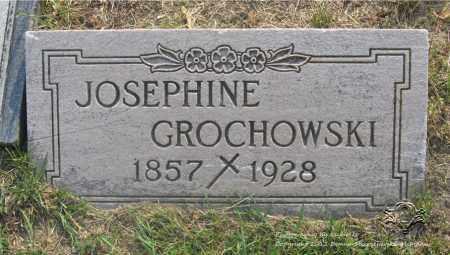 WOJCIECHOWSKI GROCHOWSKI, JOSEPHINE - Lucas County, Ohio   JOSEPHINE WOJCIECHOWSKI GROCHOWSKI - Ohio Gravestone Photos