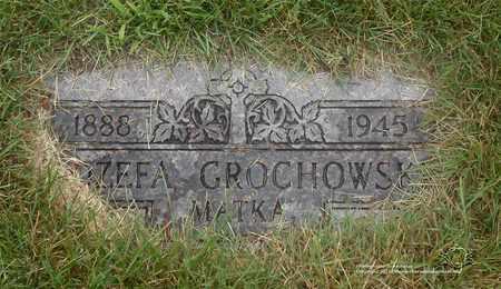 GROCHOWSKI, JOZEFA - Lucas County, Ohio | JOZEFA GROCHOWSKI - Ohio Gravestone Photos