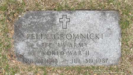 GROMNICKI, FELIX - Lucas County, Ohio   FELIX GROMNICKI - Ohio Gravestone Photos
