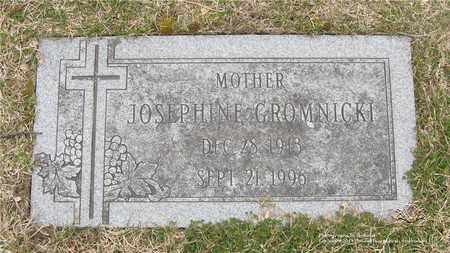 GROMNICKI, JOSEPHINE - Lucas County, Ohio | JOSEPHINE GROMNICKI - Ohio Gravestone Photos