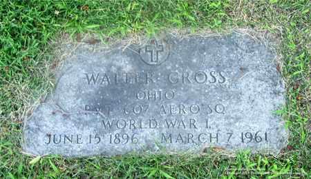 GROSS, WALTER - Lucas County, Ohio   WALTER GROSS - Ohio Gravestone Photos