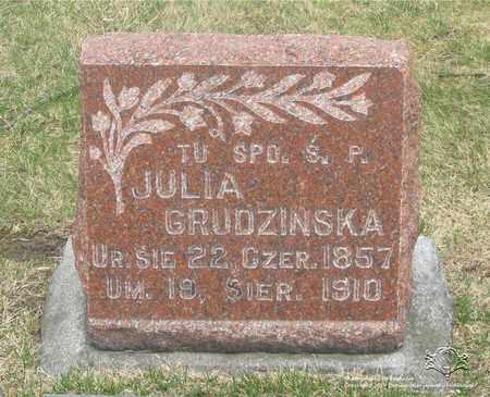 GRUDZINSKA, JULIA - Lucas County, Ohio | JULIA GRUDZINSKA - Ohio Gravestone Photos