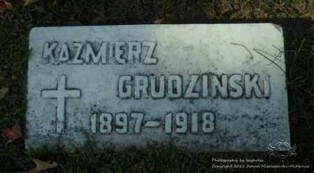 GRUDZINSKI, KAZMIERZ - Lucas County, Ohio | KAZMIERZ GRUDZINSKI - Ohio Gravestone Photos
