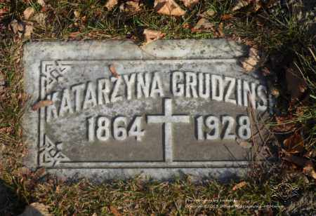 GRUDZINSKI, KATARZYNA - Lucas County, Ohio | KATARZYNA GRUDZINSKI - Ohio Gravestone Photos