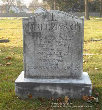 GRUDZINSKI, WANDA - Lucas County, Ohio | WANDA GRUDZINSKI - Ohio Gravestone Photos