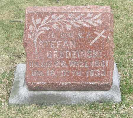 GRUDZINSKI, STEFAN - Lucas County, Ohio | STEFAN GRUDZINSKI - Ohio Gravestone Photos