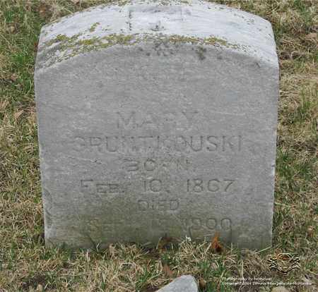 GRUNTKOWSKI, MARY - Lucas County, Ohio | MARY GRUNTKOWSKI - Ohio Gravestone Photos