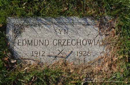 GRZECHOWIAK, EDMUND - Lucas County, Ohio | EDMUND GRZECHOWIAK - Ohio Gravestone Photos