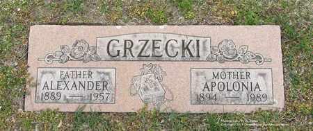 GRZECKI, ALEXANDER - Lucas County, Ohio | ALEXANDER GRZECKI - Ohio Gravestone Photos