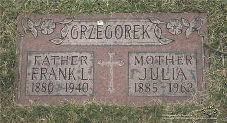 DEMBINSKI GRZEGOREK, JULIA - Lucas County, Ohio | JULIA DEMBINSKI GRZEGOREK - Ohio Gravestone Photos