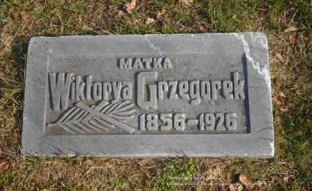 CIEZKI GRZEGOREK, WIKTORYA - Lucas County, Ohio   WIKTORYA CIEZKI GRZEGOREK - Ohio Gravestone Photos