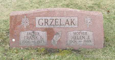 GRZELAK, HELEN J. - Lucas County, Ohio | HELEN J. GRZELAK - Ohio Gravestone Photos