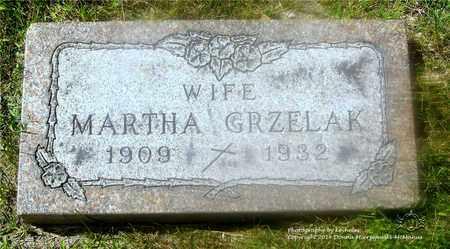 GRZELAK, MARCELLA MARTHA - Lucas County, Ohio | MARCELLA MARTHA GRZELAK - Ohio Gravestone Photos