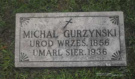 GURZYNSKI, MICHAL - Lucas County, Ohio | MICHAL GURZYNSKI - Ohio Gravestone Photos
