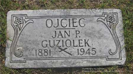 GUZIOLEK, JAN P. - Lucas County, Ohio | JAN P. GUZIOLEK - Ohio Gravestone Photos