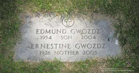 GWOZDZ, EDMUND - Lucas County, Ohio | EDMUND GWOZDZ - Ohio Gravestone Photos