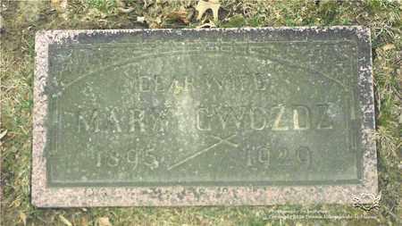 GWOZDZ, MARY - Lucas County, Ohio   MARY GWOZDZ - Ohio Gravestone Photos