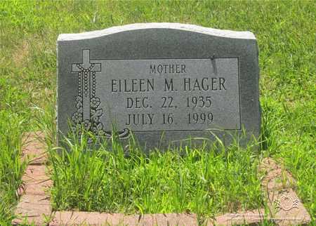 HAGER, EILEEN M. - Lucas County, Ohio | EILEEN M. HAGER - Ohio Gravestone Photos