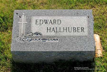 HALLHUBER, EDWARD - Lucas County, Ohio   EDWARD HALLHUBER - Ohio Gravestone Photos