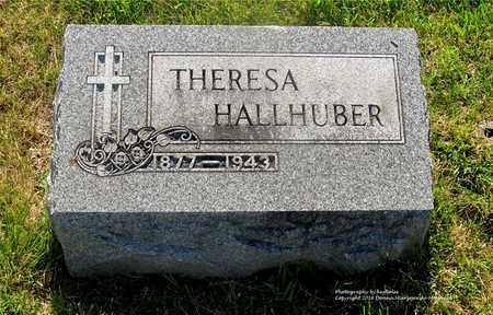 HALLHUBER, THERESA - Lucas County, Ohio | THERESA HALLHUBER - Ohio Gravestone Photos