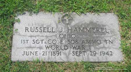 HAMMEREL, RUSSELL J. - Lucas County, Ohio | RUSSELL J. HAMMEREL - Ohio Gravestone Photos