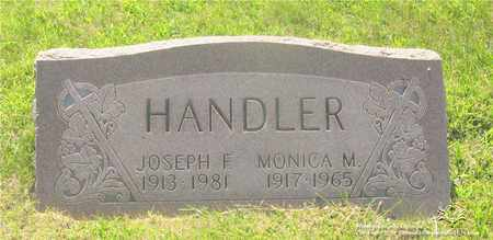 HANDLER, MONICA M. - Lucas County, Ohio | MONICA M. HANDLER - Ohio Gravestone Photos