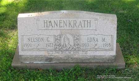 HANENKRATH, NELSON G. - Lucas County, Ohio | NELSON G. HANENKRATH - Ohio Gravestone Photos