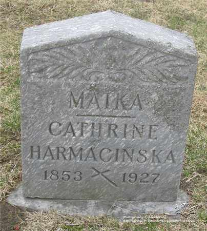 LEITER HARMACINSKA, CATHERINE - Lucas County, Ohio | CATHERINE LEITER HARMACINSKA - Ohio Gravestone Photos