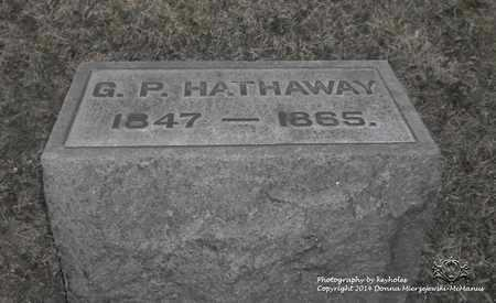 HATHAWAY, G.P. - Lucas County, Ohio   G.P. HATHAWAY - Ohio Gravestone Photos