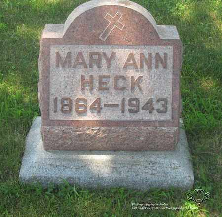 ZIEGELHOFER HECK, MARY ANN - Lucas County, Ohio   MARY ANN ZIEGELHOFER HECK - Ohio Gravestone Photos