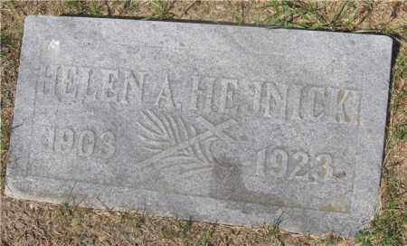 HEJNICKI, HELEN A. - Lucas County, Ohio   HELEN A. HEJNICKI - Ohio Gravestone Photos