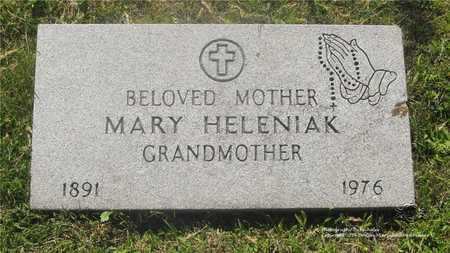 HELENIAK, MARY - Lucas County, Ohio | MARY HELENIAK - Ohio Gravestone Photos