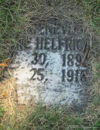 HELFRICH, IRENE - Lucas County, Ohio | IRENE HELFRICH - Ohio Gravestone Photos