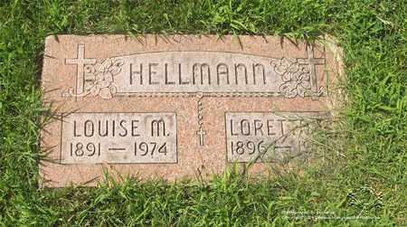 HELLMANN, LOUISE M. - Lucas County, Ohio | LOUISE M. HELLMANN - Ohio Gravestone Photos