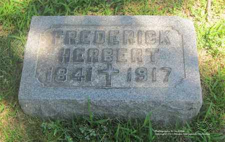 HERBERT, FREDERICK - Lucas County, Ohio | FREDERICK HERBERT - Ohio Gravestone Photos