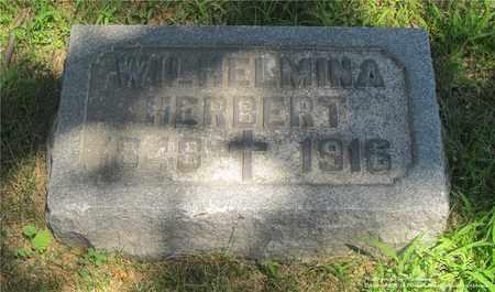 SPECKERT HERBERT, WILHEMINA - Lucas County, Ohio | WILHEMINA SPECKERT HERBERT - Ohio Gravestone Photos