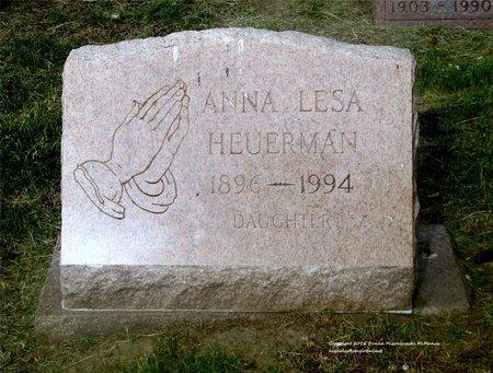 HEUERMAN, ANNA LESA - Lucas County, Ohio | ANNA LESA HEUERMAN - Ohio Gravestone Photos