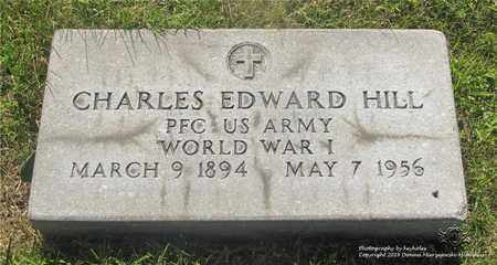 HILL, CHARLES EDWARD - Lucas County, Ohio | CHARLES EDWARD HILL - Ohio Gravestone Photos