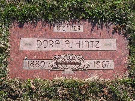 HINTZ, DORA - Lucas County, Ohio | DORA HINTZ - Ohio Gravestone Photos